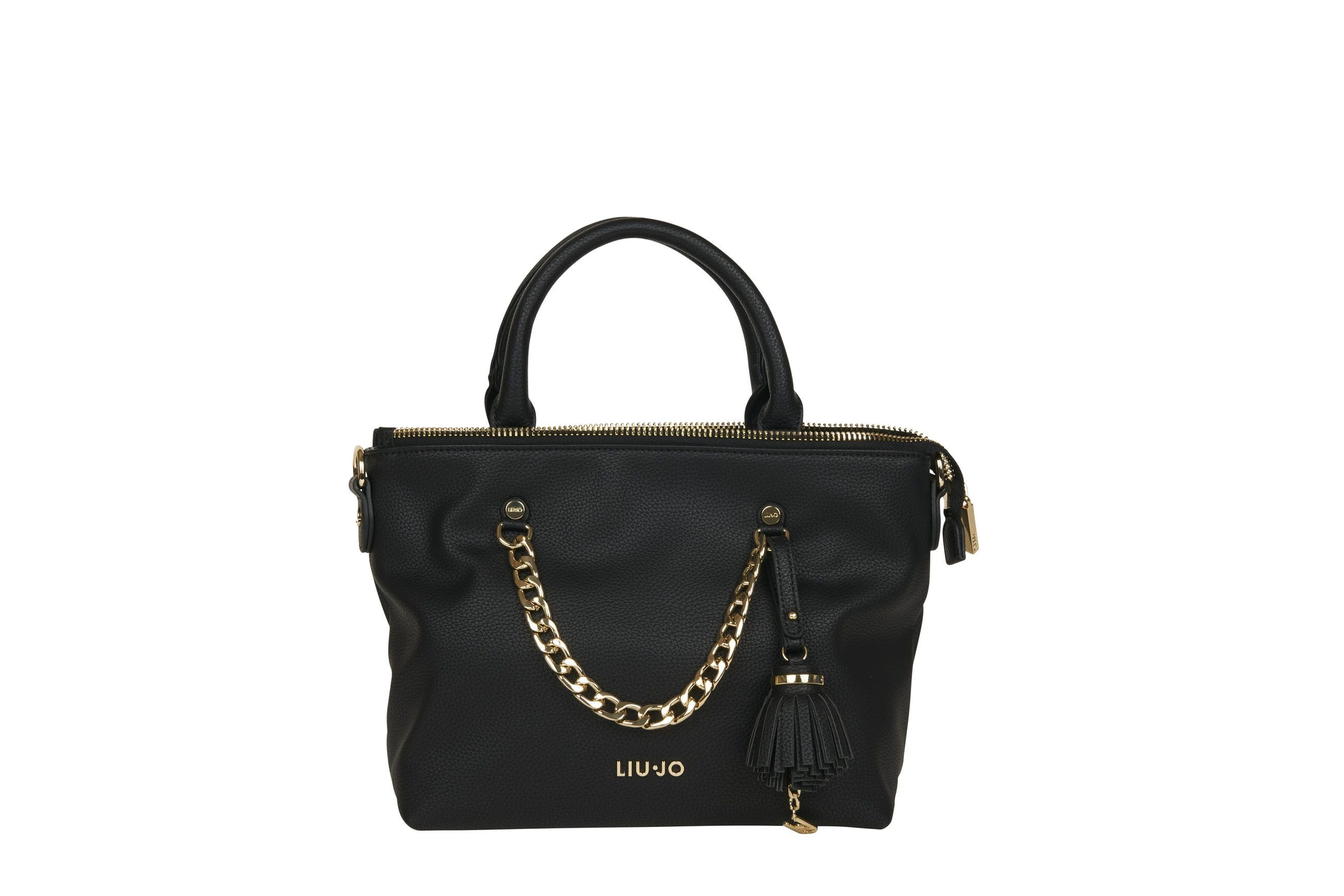 LIU JO BORSA SHOPPER NERO 22222